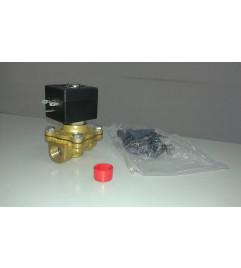 """Válvula solenoide 2/2 vias Normalmente Fechada conexão 3/8"""" NPT pressão máxima de 16 bar bobina 240Vac 60Hz - ASCO Numatics"""