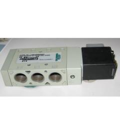 Válvula Pneumática direcional 5/2 vias NF conexão de 1/4 BSP Spool lapidado 24 Vcc