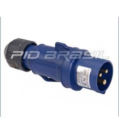 PLUGUE 16A - IP44 (2P+T) 6H - 220/240V