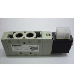 Válvula Pneumática direcional 5/2 vias NF conexão de 1/4 BSP Spool lapidado 220 Vac