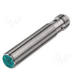 Sensor indutivo Faceado M12 Distância sensora de 4mm Saída PNP Normalmente Aberta conector M12 4 pinos - Pepper+Fuchs