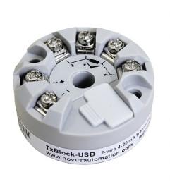 TxBlock USB com saída 4-20 mA - NOVUS